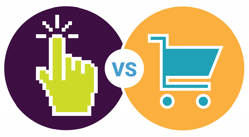 click vs conversions